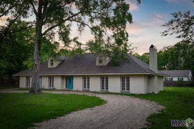 Denham Springs Single Family Home For Sale: 9951 Spur Rd