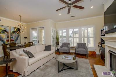 Baton Rouge Condo/Townhouse For Sale: 990 Stanford Ave #501