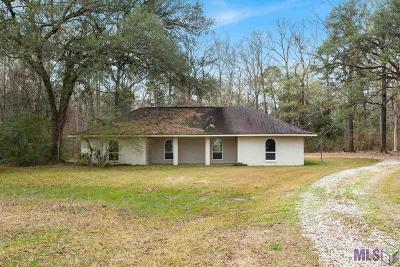 Denham Springs Single Family Home For Sale: 38213 Little Woods Dr
