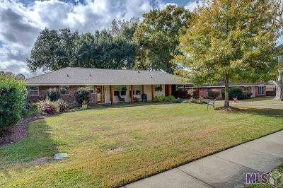 Zachary Single Family Home For Sale: 3626 Oak Hills Dr