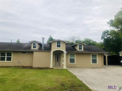Gonzales Single Family Home For Sale: 40005 La Hwy 621