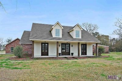 St Amant Single Family Home For Sale: 45023 Bernice Ln