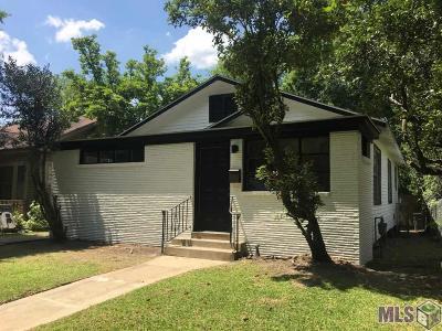 Baton Rouge Single Family Home For Sale: 1116 Park Blvd