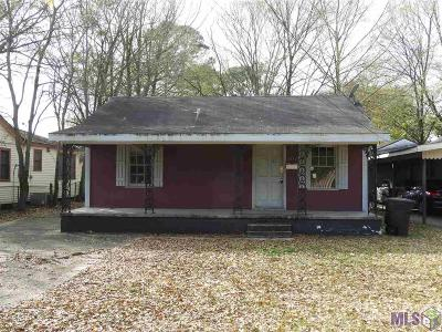Baton Rouge Single Family Home For Sale: 3377 Mission St