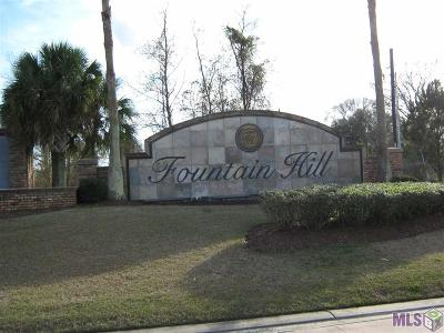 Prairieville Residential Lots & Land For Sale: Lot 3 Fountain Hill
