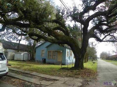 Baton Rouge LA Single Family Home For Sale: $46,000