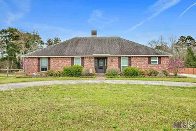 Denham Springs Single Family Home For Sale: 31622 Meadowlark Ln