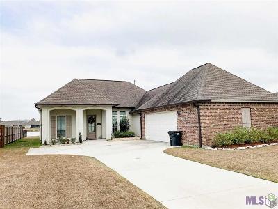Prairieville Single Family Home For Sale: 16462 Parker Place Dr