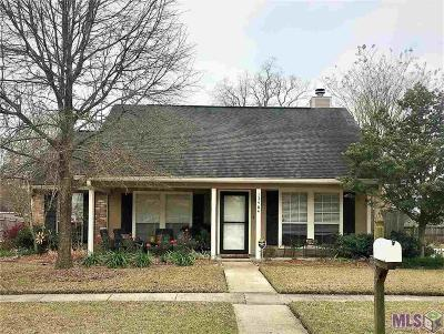 Baton Rouge Single Family Home For Sale: 13464 Parwood Ave