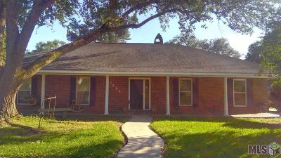 Prairieville, Baton Rouge, Geismar, Gonzales Single Family Home For Sale: 7608 Tipperary Dr