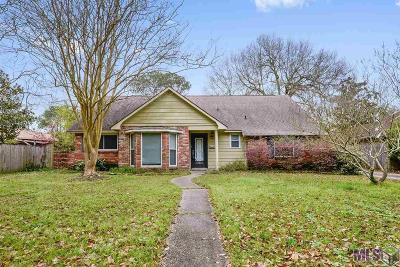 Baton Rouge LA Single Family Home For Sale: $230,000