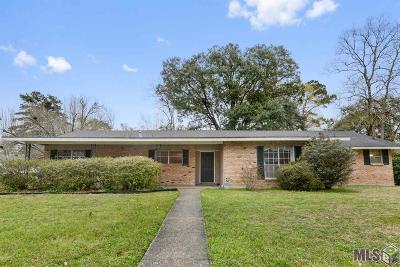 Baton Rouge LA Single Family Home For Sale: $174,000