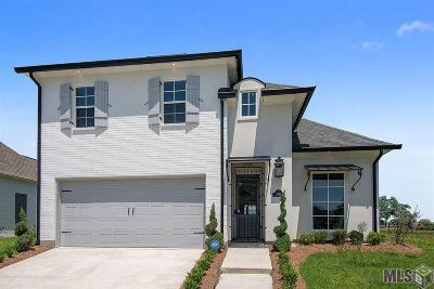 Zachary Single Family Home For Sale: 3592 Spanish Trail