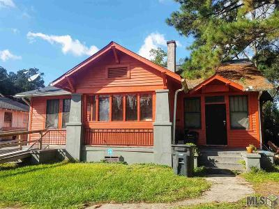 Baton Rouge Single Family Home For Sale: 2927 & 2929 Fairfields Ave