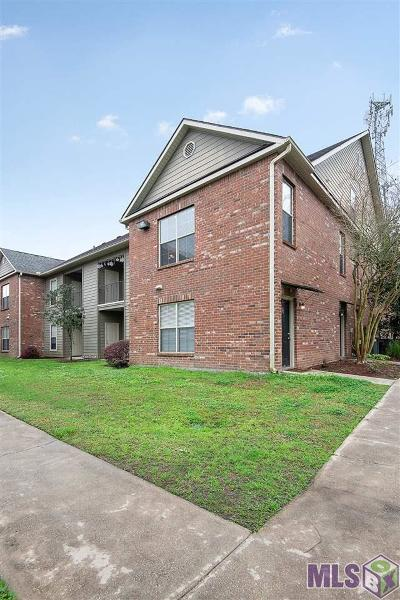 Baton Rouge Condo/Townhouse For Sale: 7300 Burbank Dr #45