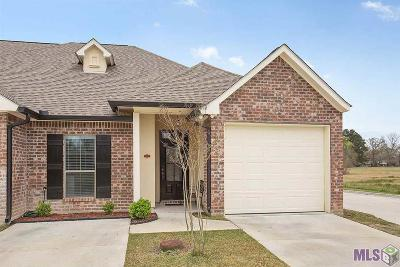 Prairieville Condo/Townhouse For Sale: 14236 Woodgate Ct