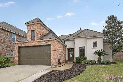 Gonzales Single Family Home For Sale: 12517 Esplanade Dr