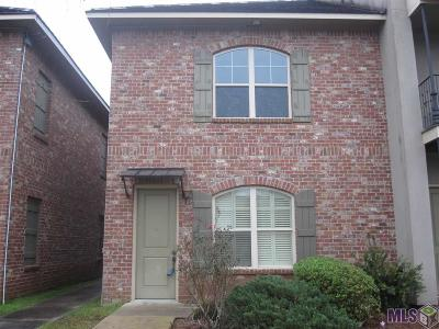 Baton Rouge Condo/Townhouse For Sale: 4637 Burbank Dr #501