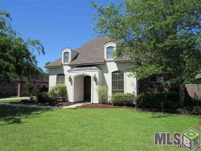 Denham Springs Single Family Home For Sale: 30939 Caney Branch Rd