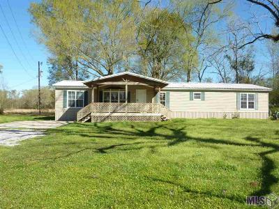 Zachary Single Family Home For Sale: 1670 E Flonacher Rd