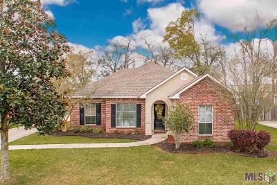 Prairieville Single Family Home For Sale: 16077 Jarod Dr