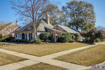 Baton Rouge Single Family Home For Sale: 612 Millgate Pl