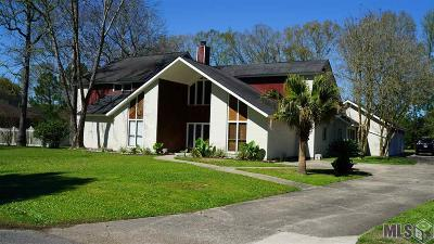 Baton Rouge Single Family Home For Sale: 3128 Valcour Aime Ave
