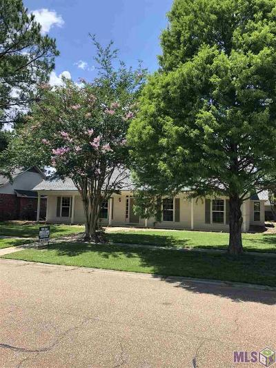 Baton Rouge Single Family Home For Sale: 7726 John Newcombe Ave