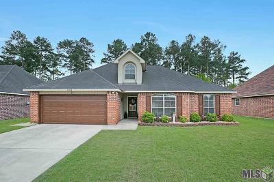 Denham Springs Single Family Home For Sale: 12732 Bonnie Bleu Dr