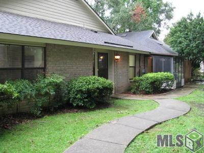 Baton Rouge Condo/Townhouse For Sale: 5323 Blair Ln #F-2