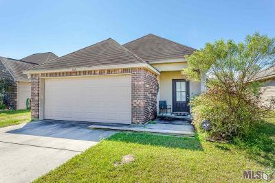 Denham Springs Single Family Home For Sale: 11524 Mary Lee Dr