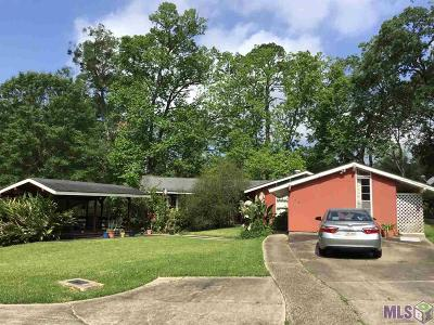 Baton Rouge Single Family Home For Sale: 735 Nelson Dr