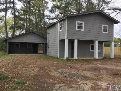Denham Springs Single Family Home For Sale: 7527 Magnolia Beach Rd