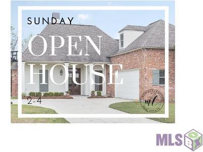 Prairieville, Baton Rouge, Geismar, Gonzales Single Family Home For Sale: 39412 Oceanview Ave