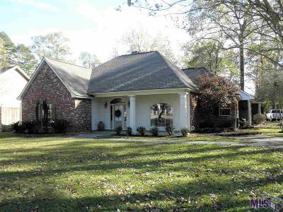 Prairieville, Baton Rouge, Geismar, Gonzales Single Family Home For Sale: 16520 Centurion Ave