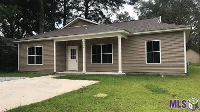 Denham Springs Single Family Home For Sale: 116 Easterly St
