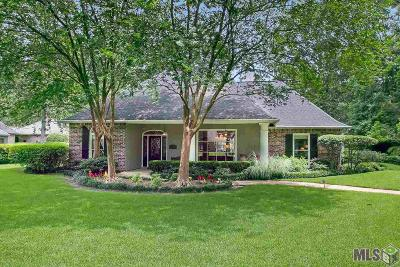 Baton Rouge Single Family Home For Sale: 18835 Lake Harbour Ave