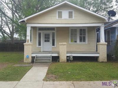 Baton Rouge Single Family Home For Sale: 2136 America St