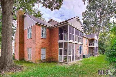 Baton Rouge Condo/Townhouse For Sale: 7352 N Jefferson Place Cir #D