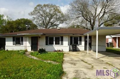 Baton Rouge Single Family Home For Sale: 4227 Beech St