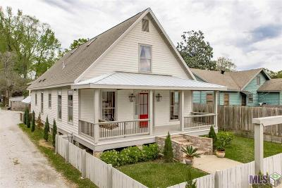 Prairieville, Baton Rouge, Geismar, Gonzales Single Family Home For Sale: 4747 Capital Heights Ave