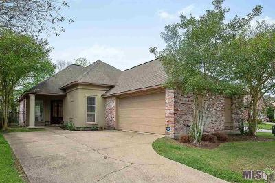 Zachary Single Family Home For Sale: 4007 Water Oak Dr