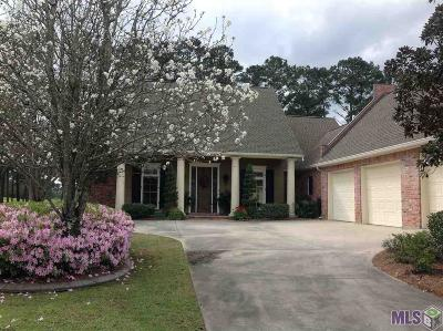 Denham Springs Single Family Home For Sale: 9232 Greystone Dr