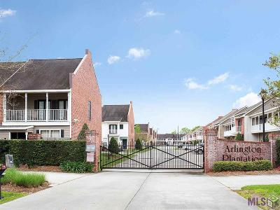 Baton Rouge Condo/Townhouse For Sale: 2171 Plantation Ln