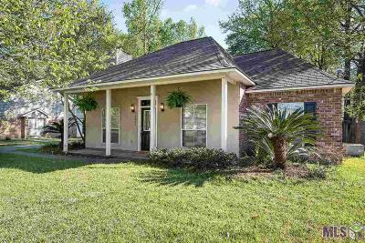 Prairieville Single Family Home For Sale: 18422 Red Oak Dr