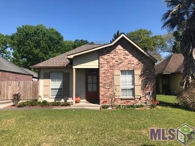 Prairieville Single Family Home For Sale: 41048 Fairmont Dr