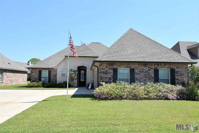 Gonzales Single Family Home For Sale: 13272 Babin Estates Dr