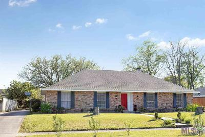 Baton Rouge Single Family Home For Sale: 12554 Sherbrook