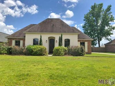 Denham Springs Single Family Home For Sale: 9122 Willow Point Dr