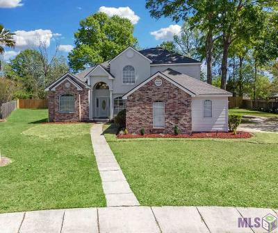 Zachary Single Family Home For Sale: 5296 Myrtle Hill Ave